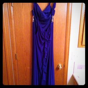 Violet Prom Dress